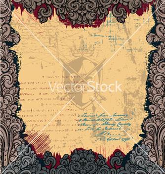 Free vintage frame vector - бесплатный vector #258335