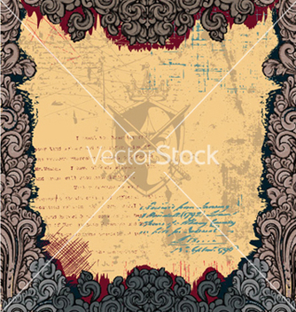 Free vintage frame vector - vector gratuit #258335