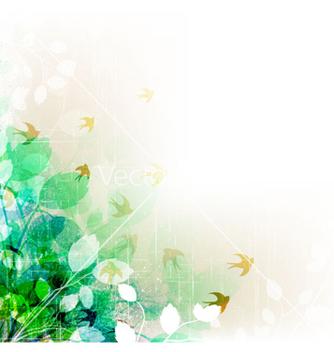Free vintage floral background vector - Free vector #258365