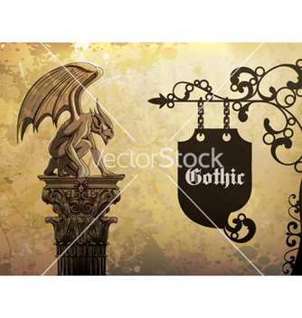 Free wrought iron sign vector - Free vector #258895