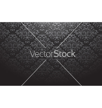 Free damask wallpaper vector - Free vector #258905