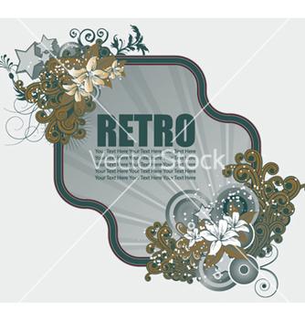 Free retro frame vector - Free vector #258915