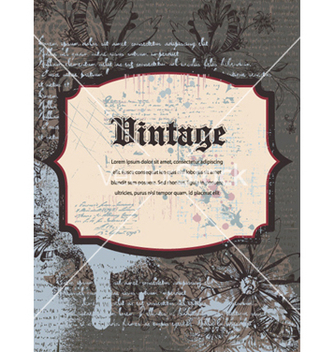 Free vintage background vector - Free vector #258925