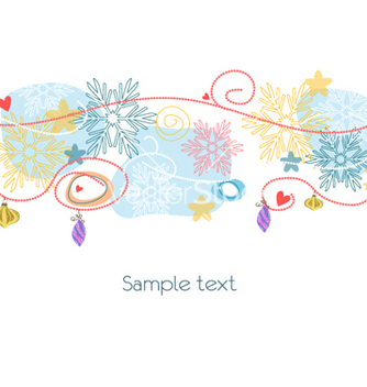 Free christmas background vector - Free vector #258965