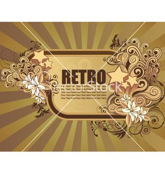 Free retro frame vector - Free vector #259875