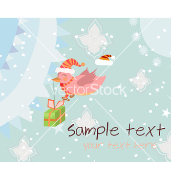 Free christmas greeting card vector - Free vector #260565