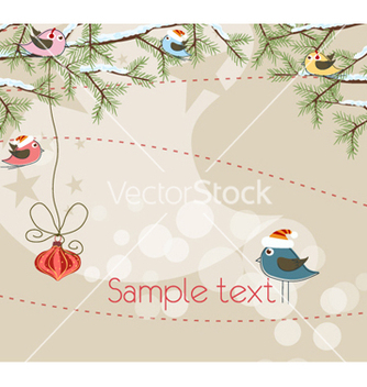 Free christmas background vector - Free vector #260675