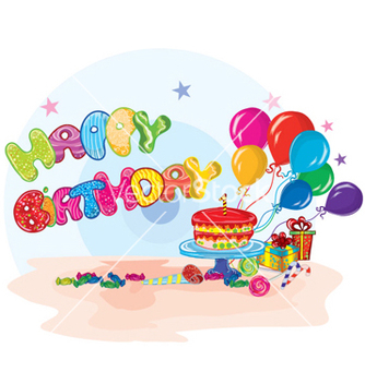 Free kids birthday party vector - Free vector #260695