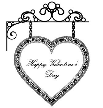 Free valentines background with heart vector - Kostenloses vector #261085