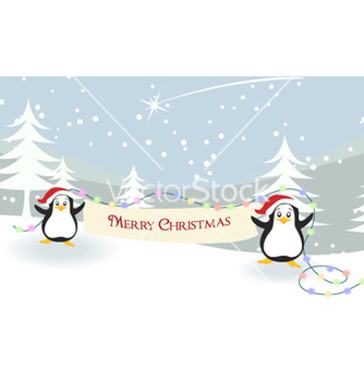 Free christmas greeting card vector - Free vector #261415