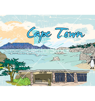 Free cape town doodles vector - Kostenloses vector #261535