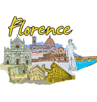 Free florence doodles vector - Free vector #261545