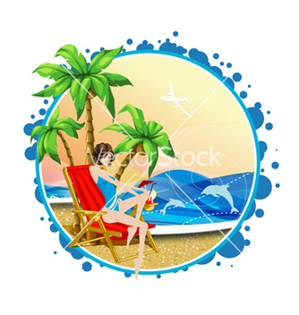 Free summer frame vector - Free vector #261575
