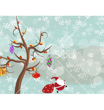 Free christmas background vector - vector #261625 gratis