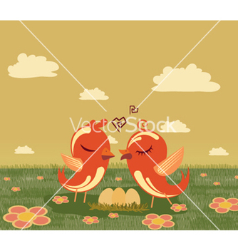Free love birds vector - Free vector #261825