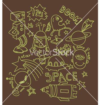 Free funny doodles vector - Kostenloses vector #262705