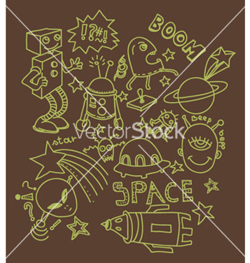 Free funny doodles vector - Free vector #262705
