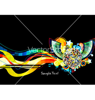 Free colorful concert poster vector - Free vector #262895