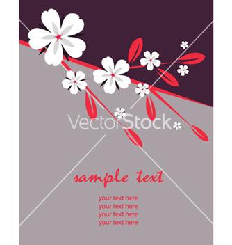 Free retro floral vector - Free vector #262955