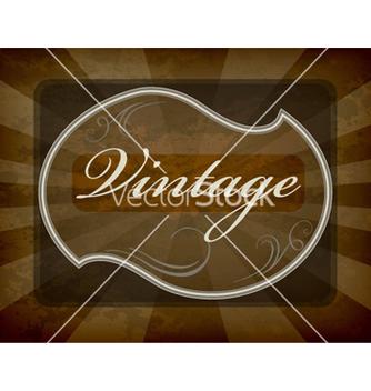 Free vintage label vector - Kostenloses vector #263305