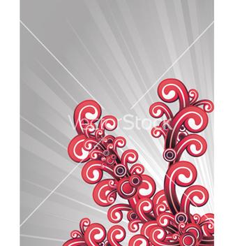 Free retro floral vector - Free vector #263685