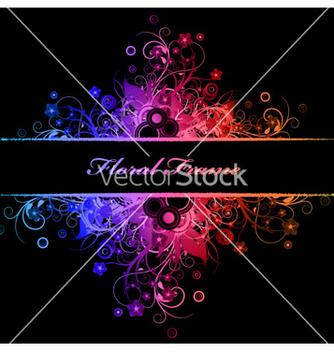 Free floral frame vector - Kostenloses vector #263805