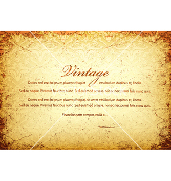 Free vintage background vector - Kostenloses vector #264095