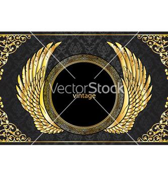 Free vintage gold emblem vector - Free vector #264195