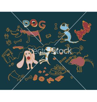 Free funny doodles vector - Kostenloses vector #264235