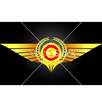 Free vintage gold emblem vector - Free vector #264385