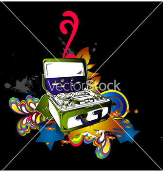 Free colorful concert poster vector - Free vector #264995