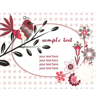 Free spring floral vector - Kostenloses vector #265155