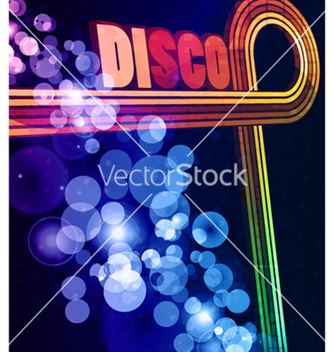 Free colorful disco background vector - Free vector #265455