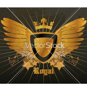 Free vintage gold emblem vector - Free vector #265595
