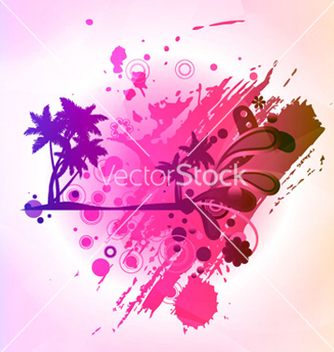 Free abstract colorful summer background vector - Free vector #266085