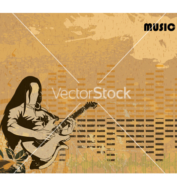 Free grunge concert poster vector - Free vector #266255