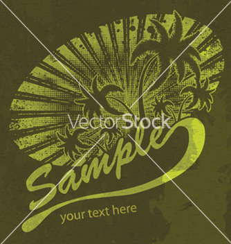 Free grunge summer vector - Free vector #266425