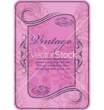 Free vintage label vector - Kostenloses vector #266605