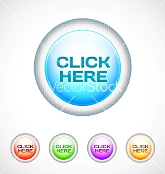 Free round web buttons vector - Kostenloses vector #266755