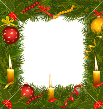 Free christmas background vector - Free vector #267255