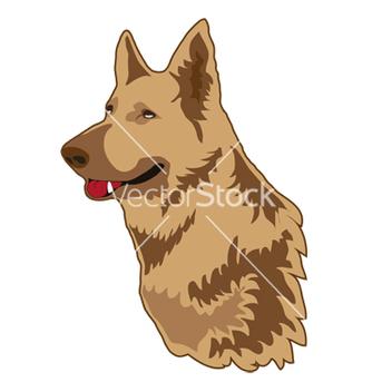 Free german shepherd vector - Kostenloses vector #267295