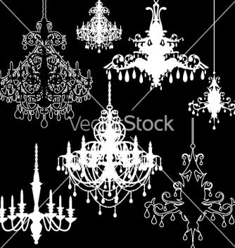 Free chandeliers vector - Free vector #267365