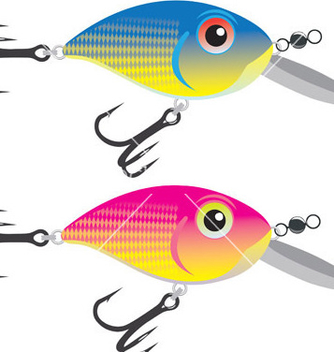 Free fishing bait vector - Free vector #267775