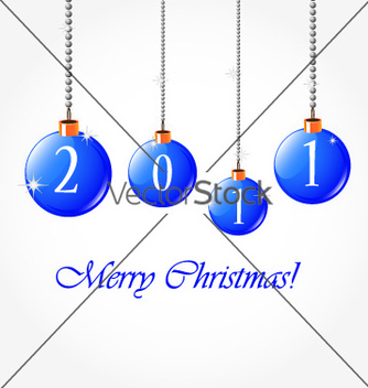 Free 2011 merry christmas vector - Free vector #267845