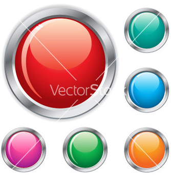 Free shiny buttons vector - бесплатный vector #267965