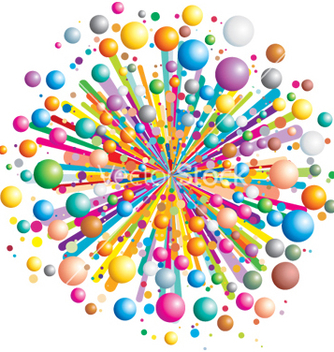 Free exploding color vector - Free vector #268005