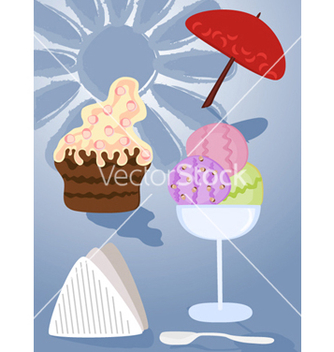 Free sweets vector - Free vector #268035