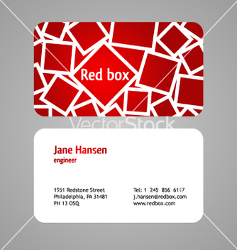 Free business card vector - бесплатный vector #268065