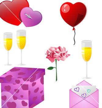 Free valentine vector - vector gratuit #268085