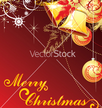 Free merry christmas vector - бесплатный vector #268125